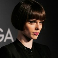 Coco Rocha Short Straight Bob Cut