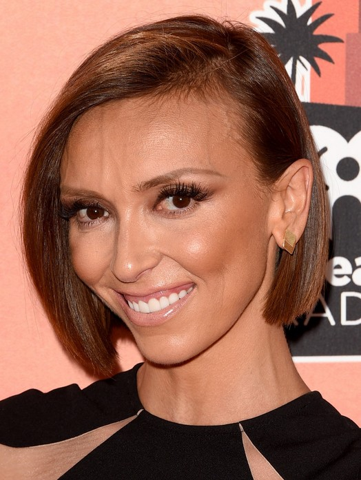 Cute Short Bob for Black Women - Giuliana Rancic Haircut