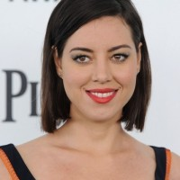 Daily Short Haircut - Aubrey Plaza Short Bob Hairstyle