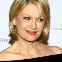 Diane Sawyer Bob Hairstyle for Older Women Age Over 60
