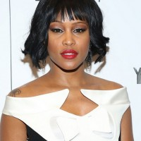 Eve Short Black Curly Bob Hairstyle for Black Women