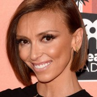 Giuliana Rancic A-line Bob Haircut for Straight Hair