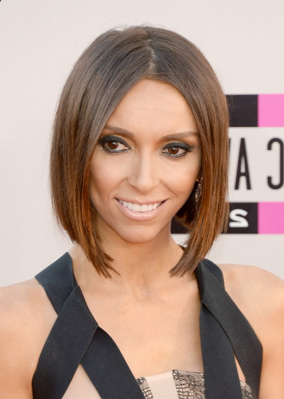 Giuliana rancic hair with bangs 2015 2015 people s for Moderner bob