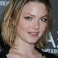 Holliday Grainger Medium Ombre Bob Hairstyle