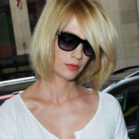 January Jones Short Layered Bob Haircut for Summer