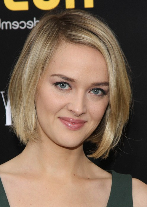 Jess Weixler Layered Short Bob Hairstyle for Women