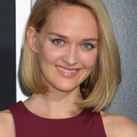 Jess Weixler Lovely Short Straight Bob Hairstyle