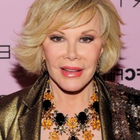 Joan Rivers Short Bob Haircut for Women Over 60