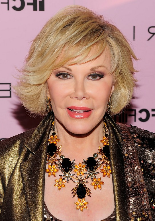 Joan Rivers Short Bob Haircut for Women Over 60  Styles