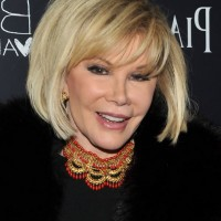 Joan Rivers Short Hairstyle for Older Women Over 60