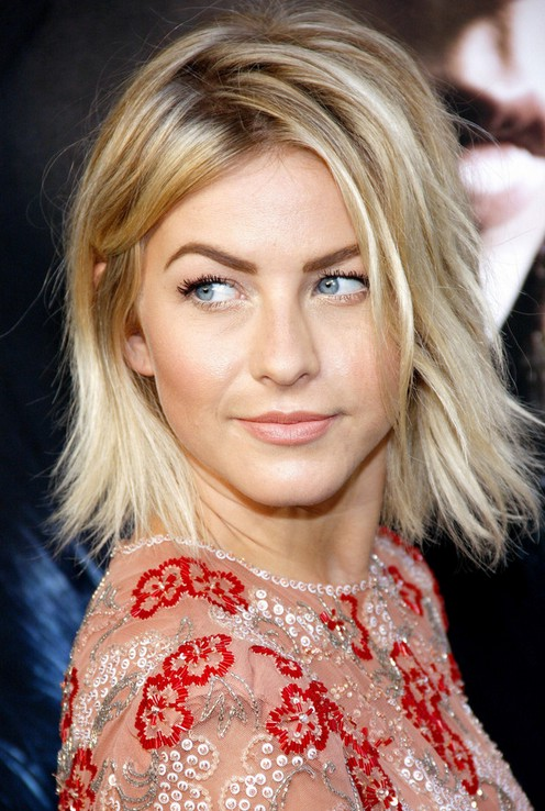 Julianne Hough Short Choppy Bob Hairstyle