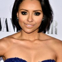 Cute Short Black Bob Hairstyle - Kat Graham Short Haircut