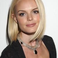 Kate Bosworth Medium Sleek Bob Hairstyle