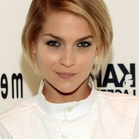Leigh Lezark Short Ombre Bob Hairstyle for Fall