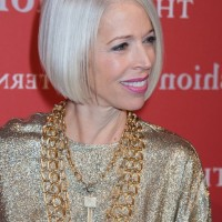Linda Fargo Platinum Blond Bob Hairstyles