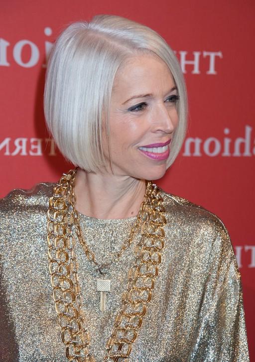 Surprising Linda Fargo Platinum Blond Bob Hairstyles For Short Hair Styles Short Hairstyles Gunalazisus