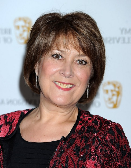 Short Bob Haircut for Women Over 50 - Lynda Bellingham 's Bob Cut