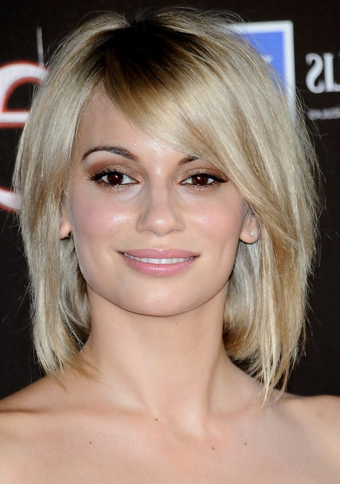 Norma Ruiz Medium Choppy Bob Hairstyle with Bangs