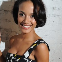 Short Black Wavy Bob Hairstyle for Black Women from Selita Ebanks