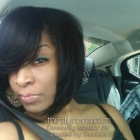 Short Layered African American Bob Hairstyle