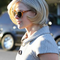 Side View of Ali Larter Angled Bob Haircut