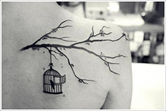 Cute Bird tattoo designs