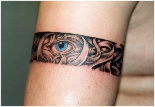 Stunning Armband Tattoo Design for girls
