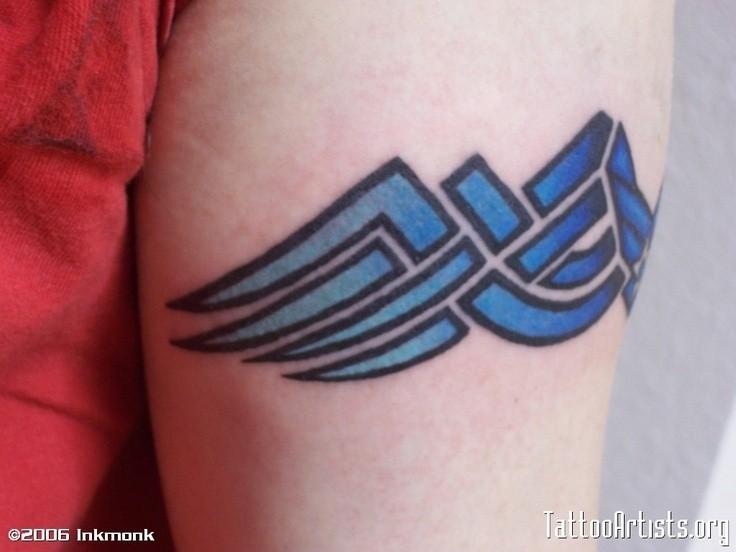USAF Armband Tattoo