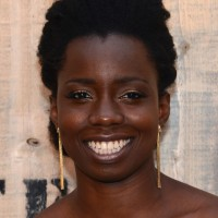 Adepero Oduye Naturally Curly Short Haircut for Black Women