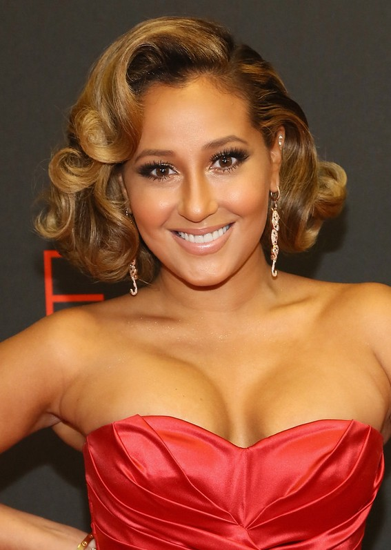 Adrienne Bailon Short Curly Hairstyles For Prom Styles Weekly