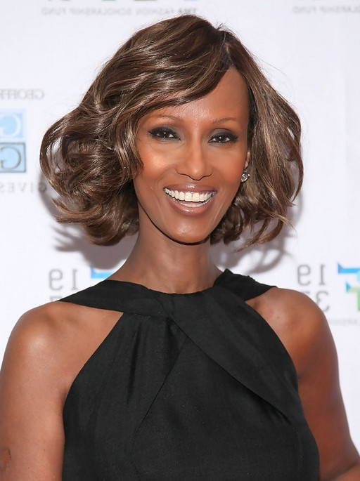 African American Finger Wave Hairstyle From Iman