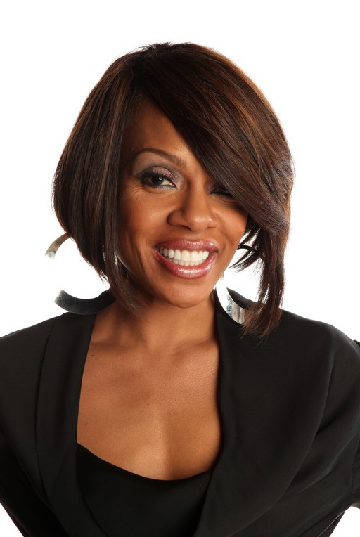 African American Graduated Bob Hairstyle from Wendy Raquel Robinson