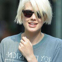 Agyness Deyn Short Scene Hairecut for Summer