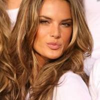 Alessandra Ambrosio Wavy Hairstyles