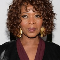 Alfre Woodard Short Curly hairstyles African American women