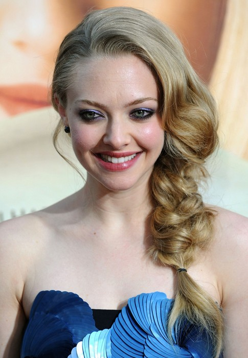 Amanda Braided Hairstyle Holiday Hairstyles For Loose Side Braid