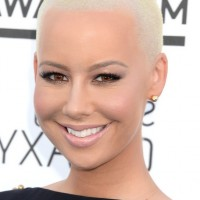 Amber Rose Buzzcut Very Short Haircut for Women