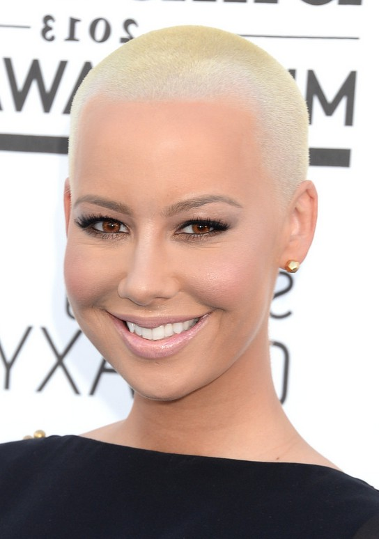 Amber Rose Buzzcut Very Short Haircut for Women | Styles Weekly