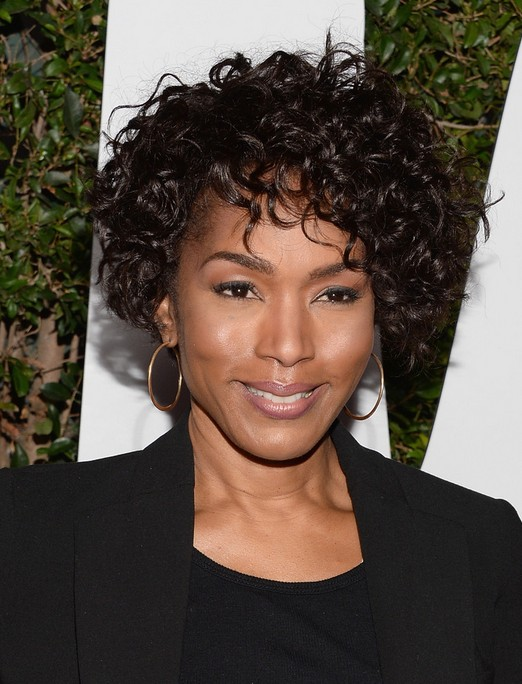 Angela Bassett Haircut Naturally Curly Short Hairstyles For Black
