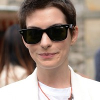 Anne Hathaway Spiky Short Boyish Boy Cut for Women