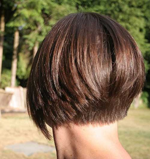 Back View of Inverted Bob Haircut /tumblr