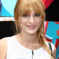 Bella Thorne Braid: Cute Easy Side Braided Hairstyles
