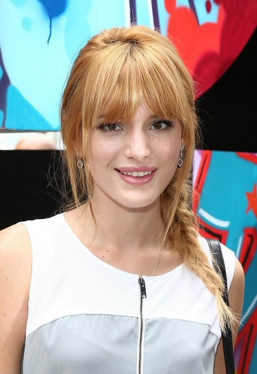 Bella Thorne Braid: Cute Easy Side Braided Hairstyles
