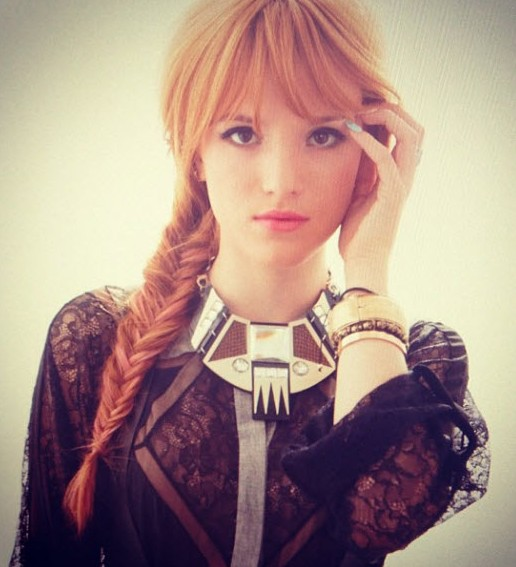 Bella Thorne Fishtail: Cute Braided Hairstyles for Girls