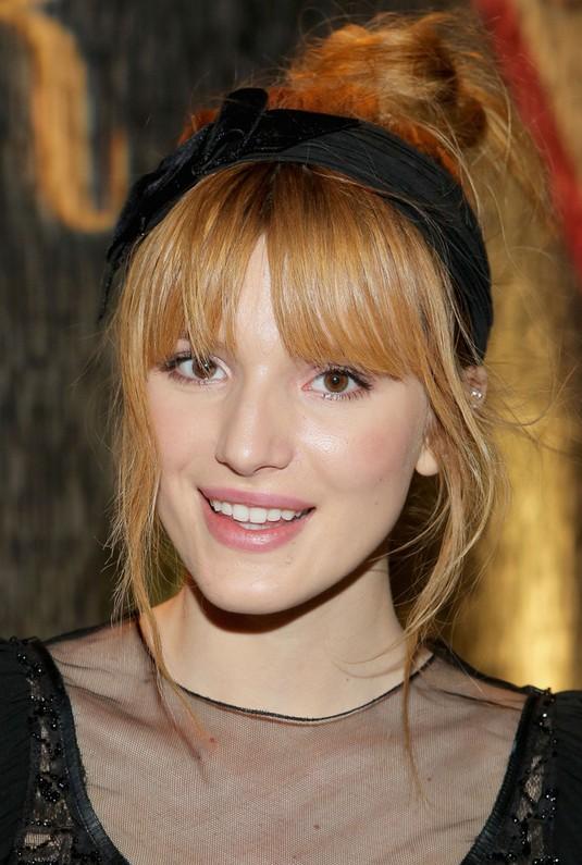 Bella Thorne Hair Knot