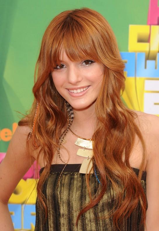 Bella Thorne Long Hairstyles
