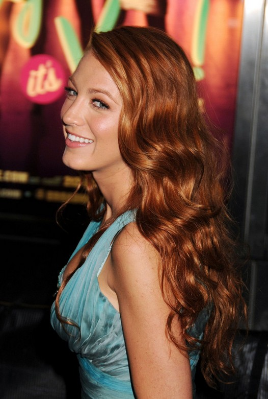 Blake Lively Red Hairstyles