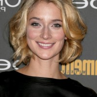 Caitlin Fitzgerald Cute Short Wavy Curly Bob Hairstyle