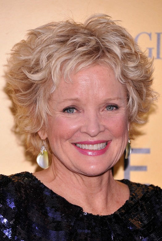 Christine Ebersole Short Tousled Curly Hairstyle For Women