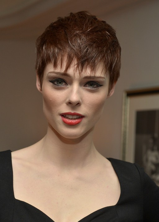 Coco Rocha Cool Short Pixie Cut Styles Weekly